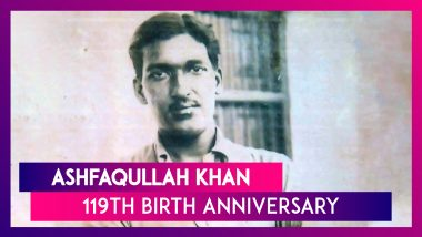 Ashfaqullah Khan 119th Birth Anniversary: Interesting Facts About The Kakori Revolutionary