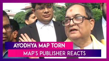 Lawyer Who Tore Ayodhya Map In Court Thought His Case Will Become Non-Existent, Says Map's Publisher-Existent_Says_Maps_Publisher