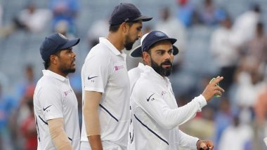 India vs South Africa Live Cricket Score, 2nd Test 2019, Day 3: Get Latest Match Scorecard and Ball-by-Ball Commentary Details for IND vs SA Test Game from Pune