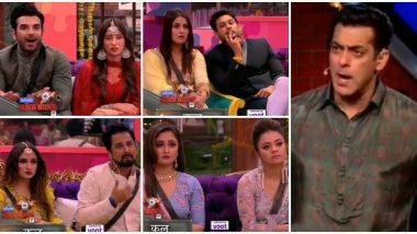 Bigg Boss 13: Salman Khan Calls Siddhartha Dey a Ch****e On National Television During Weekend Ka Vaar, Blasts Other Housemates As Well