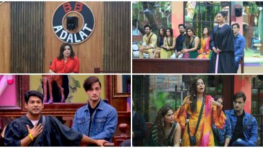 Bigg Boss 13 Day 28 Synopsis: Farah Khan Plays Magistrate While Sidharth Shukla and Rashami Desai Argue Cases in BB Adalat