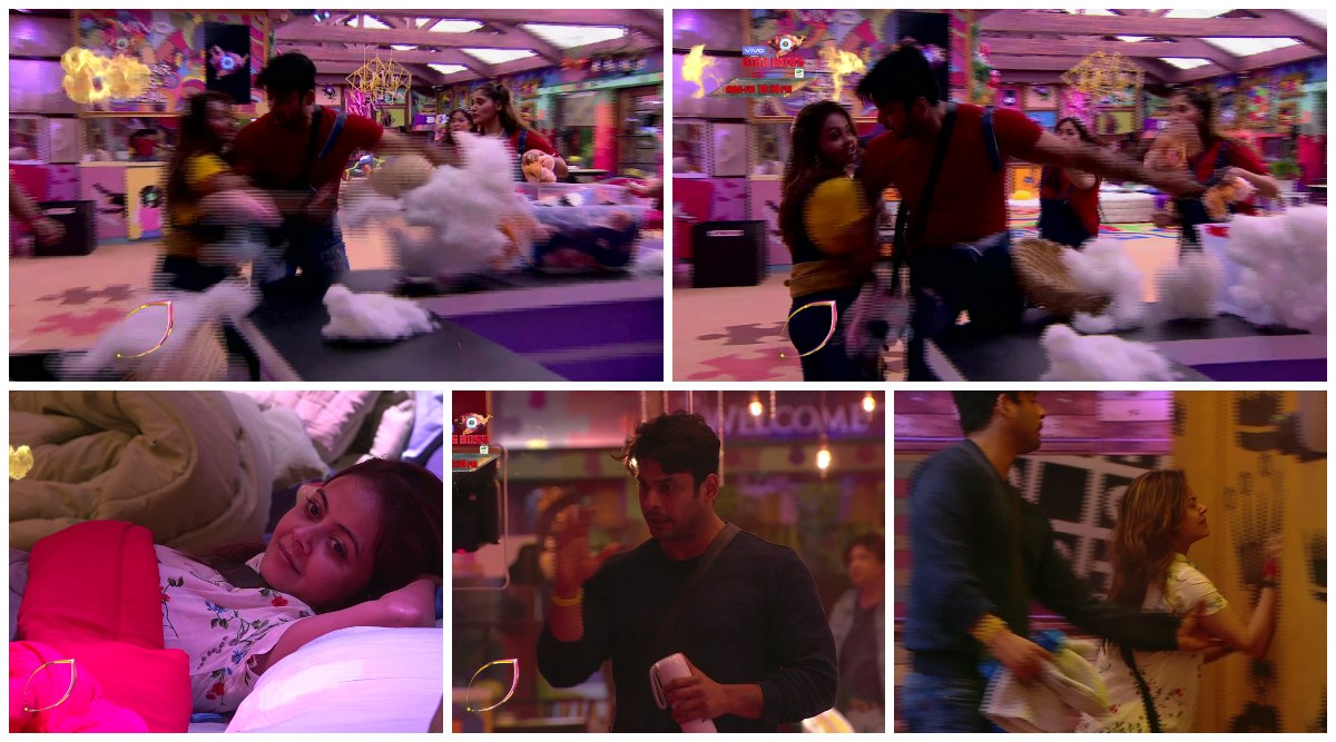 Bigg Boss 13 Day 16 Preview: Devoleena Bhattacharjee and Sidharth Shukla's Friendship Crumbles After They Get Into A Physical Fight (Watch Video)