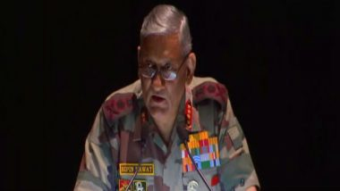 Army Chief Gen Bipin Rawat Says 'PoK is Controlled by Terrorists'