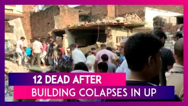 Uttar Pradesh Building Collapses: 12 Dead After Cylinder Blast