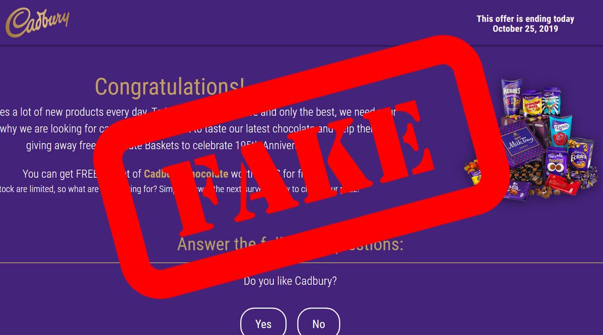 Diwali 2019: Cadbury Giving Away 1,500 Free Chocolate Baskets? Here's a Fact Check as Fake WhatsApp Message Goes Viral