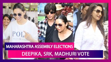 Maharashtra Assembly Elections 2019: SRK, Deepika Padukone, Madhuri Dixit & Others Cast Vote