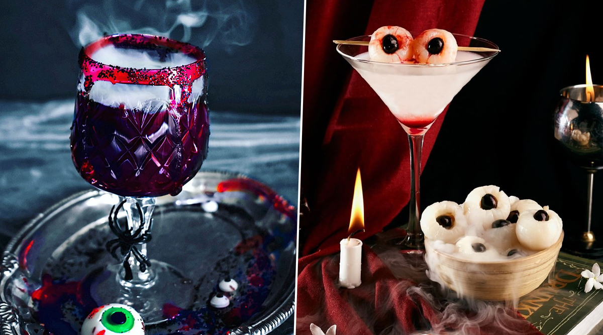 Halloween 2019 Cocktail Recipes: From Bloody Vampire to Black Devil Martini, 5 Sinister Drinks That Will Get Your Party Started (Watch Videos)