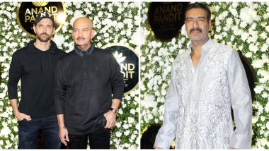 Hrithik Roshan, Rakesh Roshan, Ajay Devgn and Others Attend Anand Pandit's Diwali Party (View Pics)
