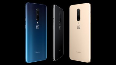 OnePlus 7T Pro, OnePlus 7T Pro McLaren Edition Launching Today: Watch LIVE Streaming & Online Telecast of OnePlus' London Launch Event