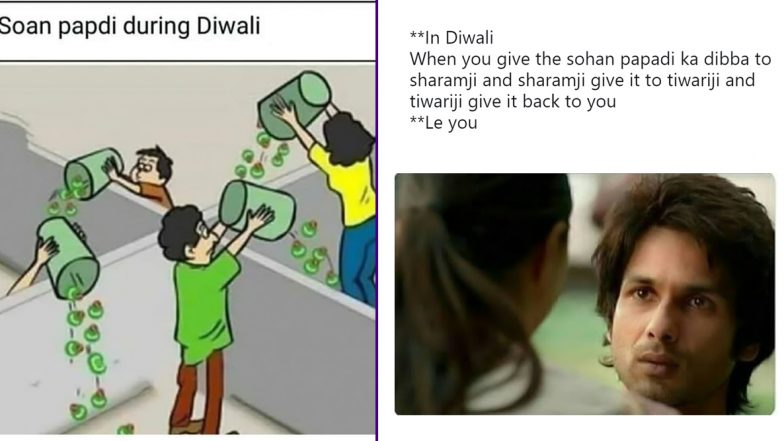 Diwali 2019 Funny Memes and Jokes Go Viral! Check Out How Twitterati Are Having a Blast Sharing Hilarious Messages Ahead of the Festival of Lights