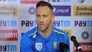 IND vs SA 3rd Test 2019: Faf Du Plessis Asks South African Batsmen to Score Heavy in First Innings in Ranchi