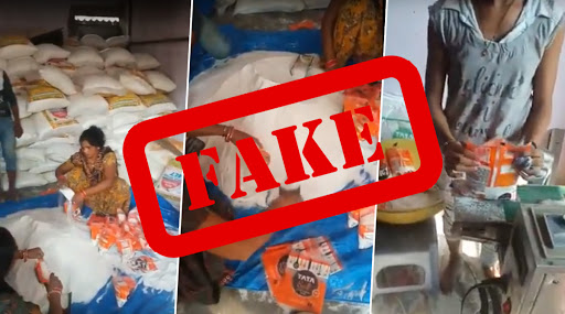 Fact Check: Tata Salt Viral Video Being Circulated Online Claims Packaging Done Under Unhygienic Conditions is FAKE!