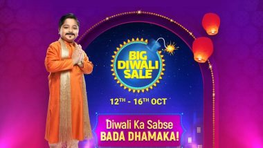 Flipkart Big Diwali Sale 2019: Top 5 Dhamaka Deals on Smartphones, Laptops, TVs & Smart Speakers That You Shouldn't Miss