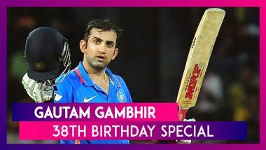 Recall Gautam Gambhir's 5 Monumental Innings On His 38th Birthday