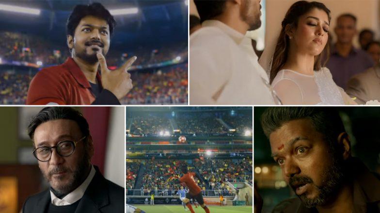 Bigil Trailer: Thalapathy Vijay and Nayanthara's Sports Action Drama Looks Power Packed!