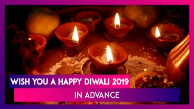 Advance Diwali 2019 Greetings: WhatsApp Messages, SMS, Images & Quotes to Wish Happy Deepavali