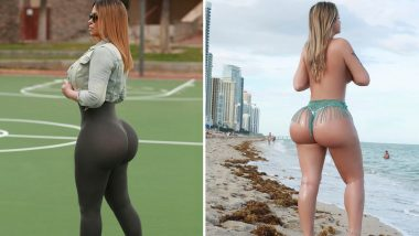 Instagram Butt Model Makes $1.5M a Year by Posting Pictures of Her Huge Booty
