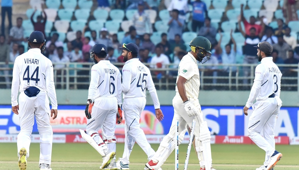 India vs South Africa, 1st Test 2019 Stat Highlights: Virat Kohli & Co. Register Comprehensive Win Over Proteas in a Match Full of Records