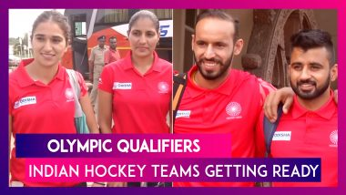 Indian Men & Women Hockey Teams Arrive In Bhubaneswar For Two-Week Camp Ahead Of Olympic Qualifiers