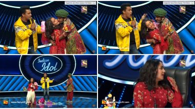 Indian Idol 11: Neha Kakkar Forcefully Kissed By Contestant, Netizens Feel Move Was Scripted for TRPs