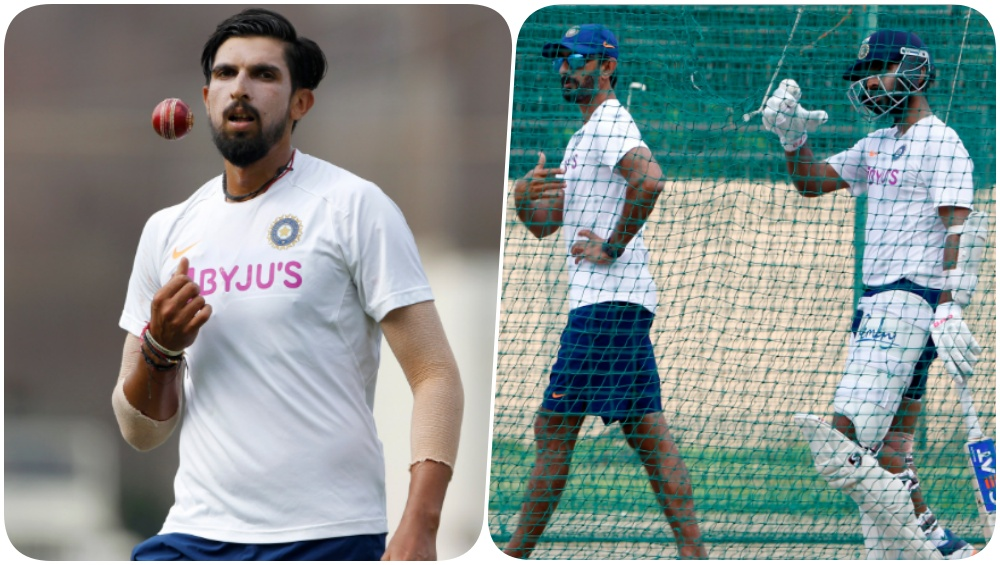 Team India Sweats it Out in the Nets Ahead of IND vs SA 3rd Test 2019 (See Pics & Video)