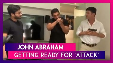 John Abraham Is Getting Ready For His Upcoming Action Thriller 'Attack'