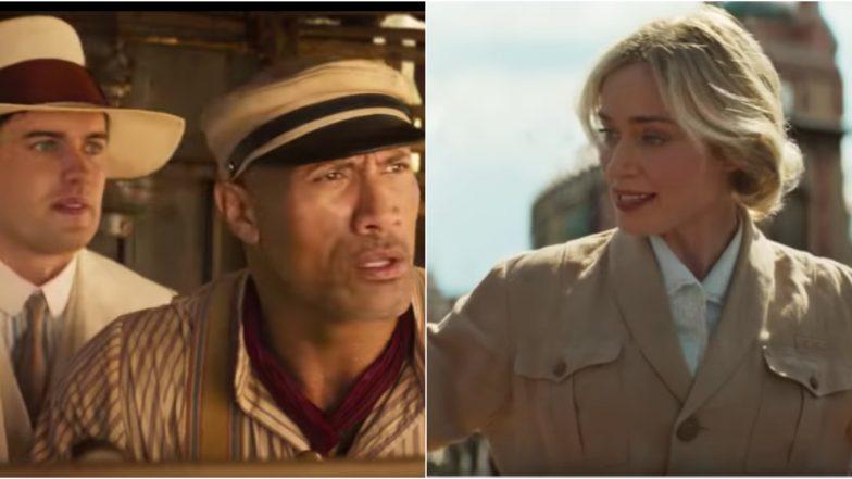 Jungle Cruise Trailer: Dwayne Johnson and Emily Blunt Go on an Adventureof a Lifetime (Watch Video)