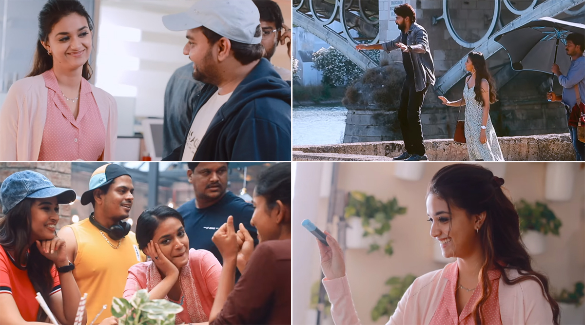 Treat For 'Miss India' Keerthy Suresh's Fans! Makers Drop  BTS Video From the Actress' Upcoming Flick On Her Birthday