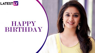 Keerthy Suresh Birthday: 5 Best Movies of the 2019 National Award Winning Actress That You Must Not Miss