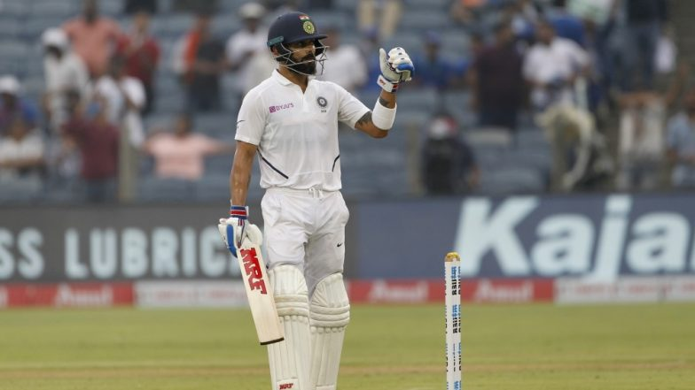 Virat Kohli Misses Out on 150-Run Mark Courtesy a Miraculous Catch by Taijul Islam During India vs Bangladesh Day-Night Test 2019 (Watch Video)