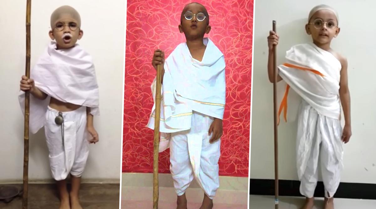 Gandhi Jayanti 2019 Fancy Dress Competition Ideas: Last-Minute Tips to Dress Your Child as Mahatma Gandhi (Watch DIY Tutorial Videos)