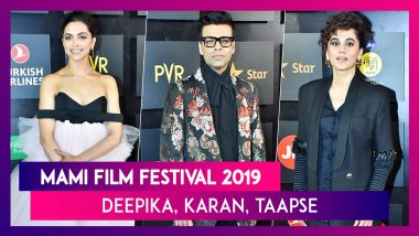 Deepika Padukone, Taapsee Pannu, Karan Johar Turn Up The Heat At MAMI Film Festival 2019 Red Carpet