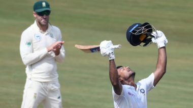 India vs South Africa, 2nd Test 2019: Mayank Agarwal and Virat Kohli Shine As India Pile 273/3 at Stumps on Day 1