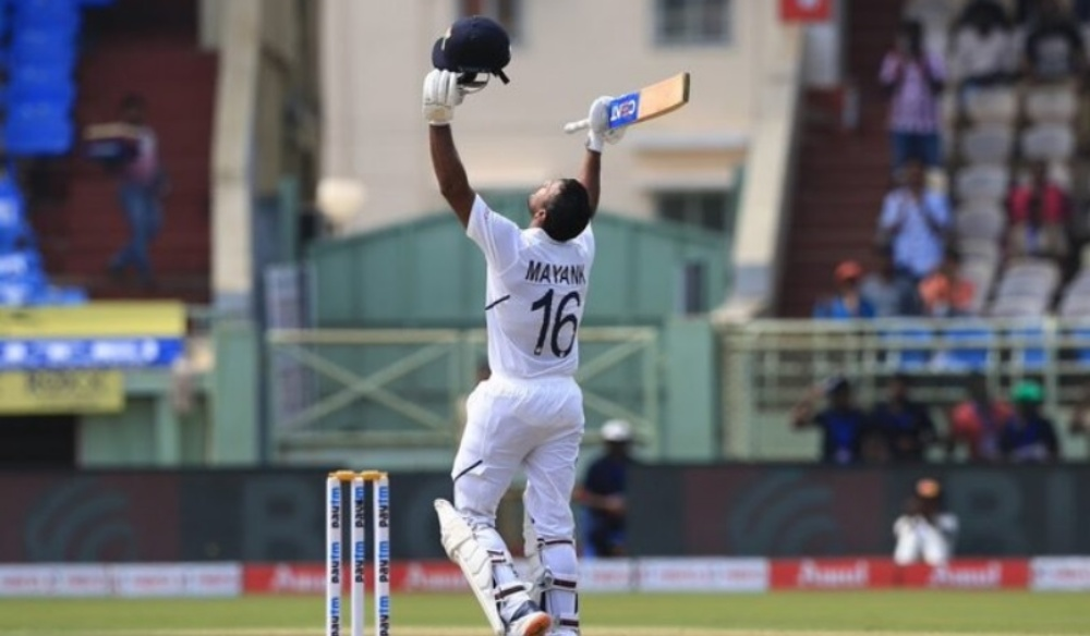 Mayank Agrawal Hits Second Double Century During IND vs BAN 1st Test 2019 As India Extend Lead Over 200