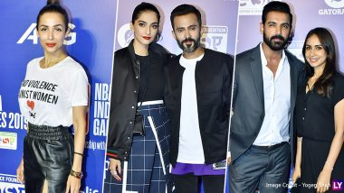 Malaika Arora, Sonam Kapoor and John Abraham Look Ultra Glam at NBA India Games 2019 Red Carpet (View Pics)
