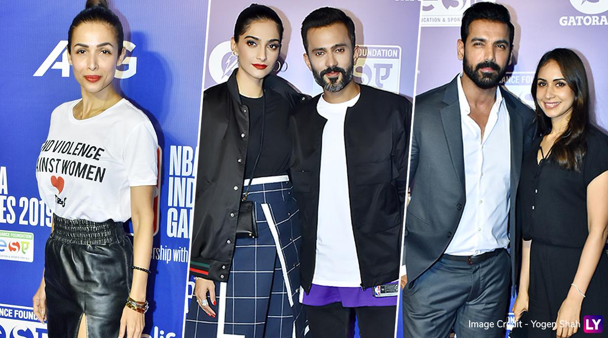 Malaika Arora, Sonam Kapoor and John Abraham Look Ultra Glam at NBA India Games 2019 Red Carpet (View Pics)