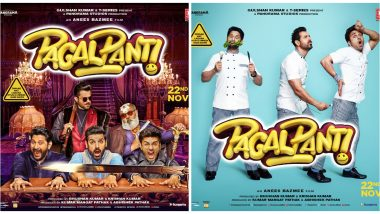 Pagalpanti New Posters: Trailer for John Abraham, Anil Kapoor's Film to Release on October 22, 2019
