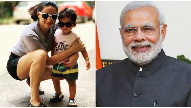 PM Narendra Modi Shares a Heartwarming Message for Gul Panag After Her Son Nihal Identifies 'Modi Ji' In Magazines (Watch Video)