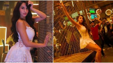 Marjaavaan Song Ek Toh Kum Zindagani: Nora Fatehi Burns the Dance Floor with Her Sexy Moves in This Reprised Version of the Iconic Track (Watch Video)