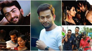Prithviraj Sukumaran Birthday: From Nandanam to Lucifer, 15 Movies That Defined This Malayalam Superstar's Interesting Career