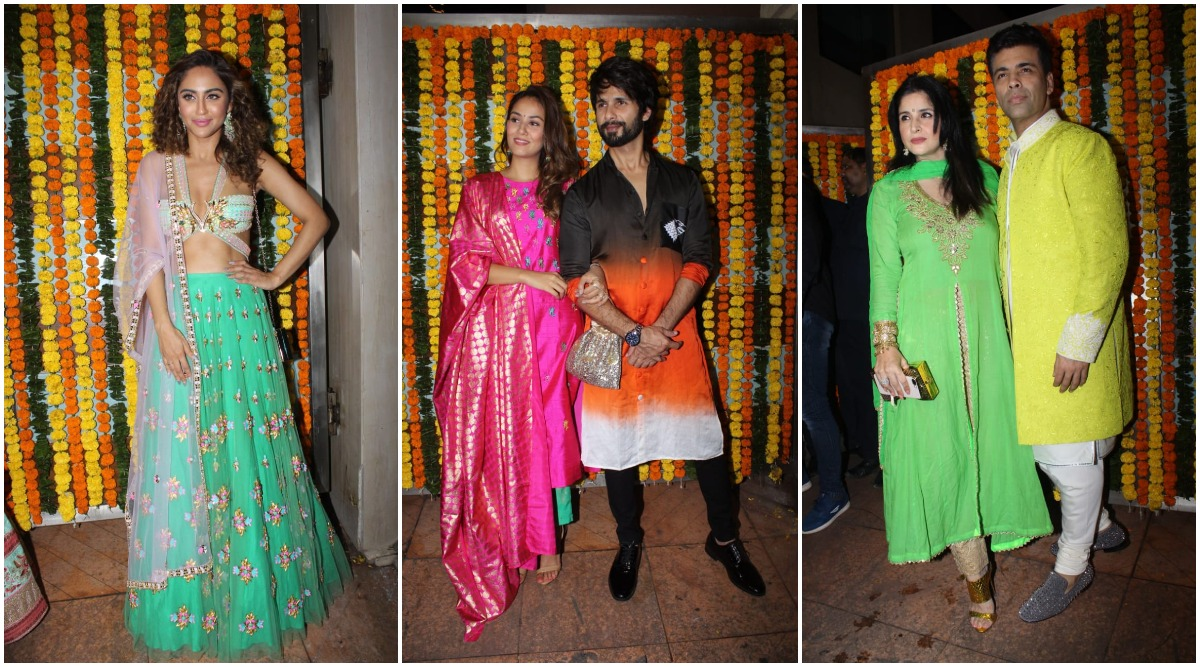 Ekta Kapoor Diwali Party: Shahid Kapoor, Karan Johar, Krystle D'Souza and Others Attend the Big Bash Hosted by TV Czarina (View Pics)
