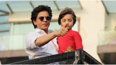 Shah Rukh Khan Learnt Something Beautiful From His Son AbRam and the Advice Will Come In Handy When You Are Feeling Blue