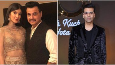 Is Shanaya Kapoor Making her Bollywood Debut with a Karan Johar Movie? Father Sanjay Kapoor Answers...
