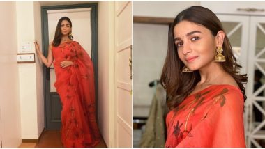 Yo or Hell No? Alia Bhatt in an Organza Saree by Picchika