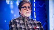 Amitabh Bachchan Hospitalized, the Actor is in Lilavati Hospital Since the Past three Days!