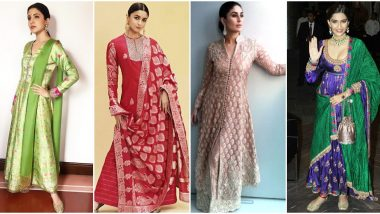 Diwali 2019: Let Kareena Kapoor Khan, Alia Bhatt and Others Teach you How to Rock Traditional and Elegant Suits this Festive Season (View Pics)