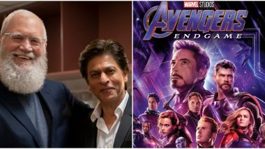 Shah Rukh Khan's Interview with David Letterman Has an IMDB Score Higher than Avengers: Endgame
