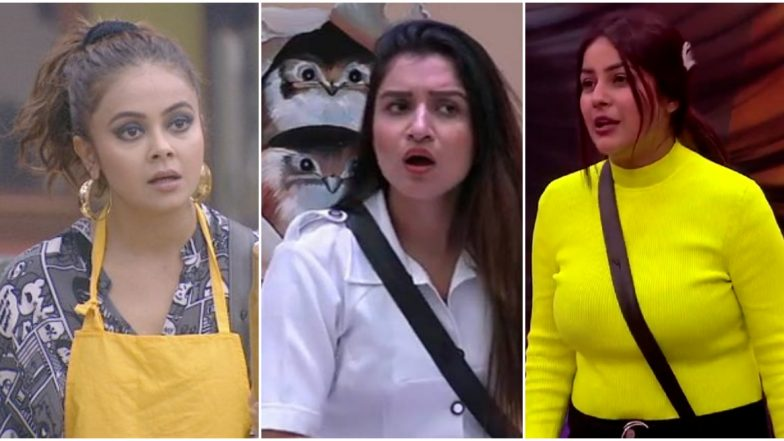 Bigg Boss 13 Day 9 Highlights: Sidharth Supports Devoleena Bhattacharjee in Queen Task; Shefali Bagga and Shehnaaz Gill Thrown Out of the Game