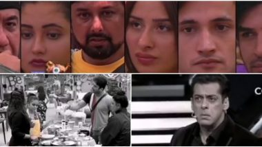 Bigg Boss 13 Day 20 Preview: Salman Khan Gives Sidharth Shukla and Rashami Desai an Earful for Their On-Going Fight (Watch Video)
