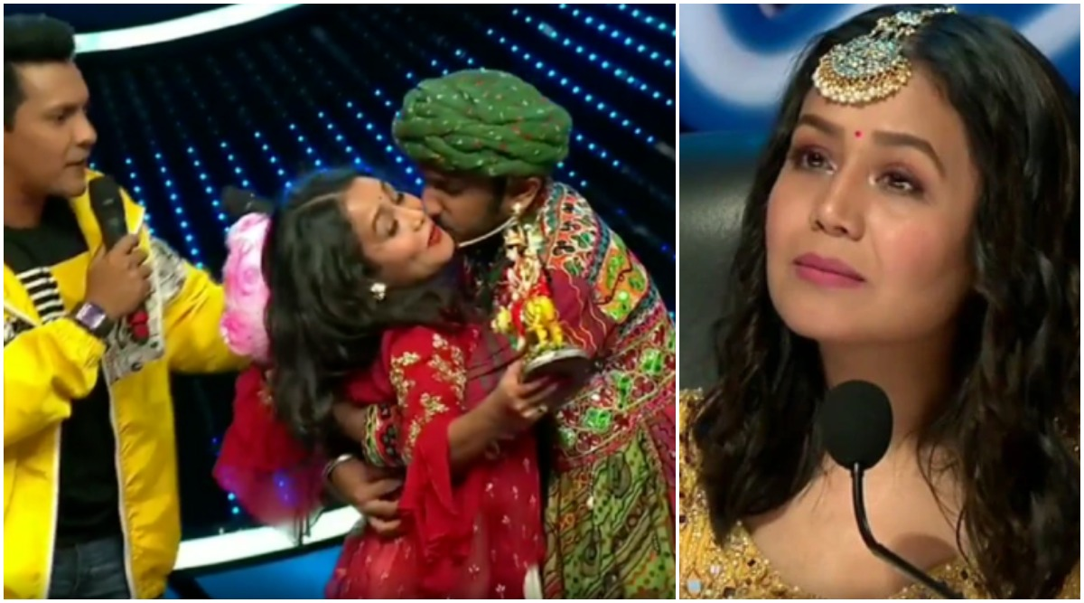 Indian Idol 11 Neha Kakkar Left Baffled After A Contestant Forcibly Kisses Her On Stage Latestly